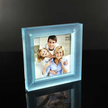 Tanie Akrylowe Clear Block Photo Frame Wholesale