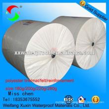 El neumático de poliéster más profesional para la membrana impermeable