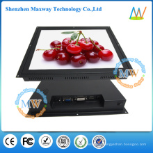 HDMI/VGA/DVI input open frame 17 inch touch screen monitor