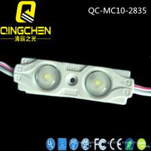 Лучшая цена 2 светодиода 0.48W SMD 2835 Модуль впрыска LED с объективом