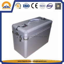 Caja de viaje de aluminio más grande para documentos de la tienda (HP-2105)