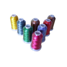 white Colorful Polyester Bonded  Sewing Thread
