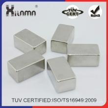 Kundengebundener NdFeB Block-Magnet gesinterter Neodym-Dauermotor-Magnet