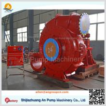 Centrifugal River Diesel Extracteur Scavenge Aspiration Jet Dragueur Sable Pompe de transfert de gravier