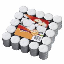 Gros tasse en aluminium thé lumière bougie