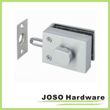 10-12mm de espesor de puerta de vidrio templado puerta de bloqueo de parche (gdl005a)
