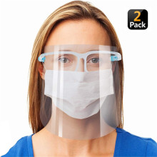 2 Pack Reusable Goggle Shield Face