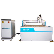 CCD cnc router oscillating knife cutting KT sheet