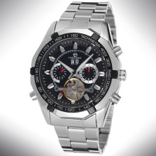 Relojes de acero inoxidable cadena / banda Men Luxury