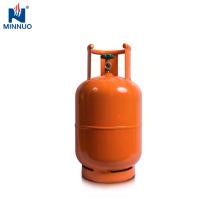 Filipinas vacía el cilindro de gas del lpg 11kg, el tanque de propano, botella de gas para el hogar