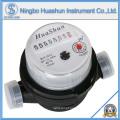 Single Jet Dry Type Plastic Body OEM Medidor de água / Fabricante