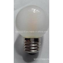 Ampoule à incandescence LED givrée de 3.5W G50 COB