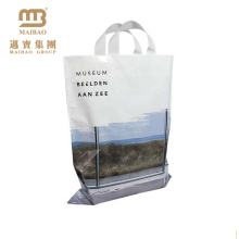 design agradável boutique saco de plástico solf alça de loop