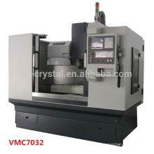 Mini alta precisão cnc fresadora center VMC7032