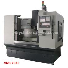 Mini alta precisão cnc fresadora center VMC7032