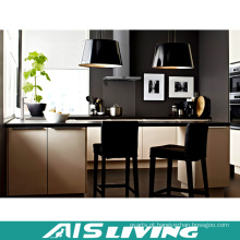 Móveis de armários de cozinha de PVC de alta qualidade (AIS-K388)