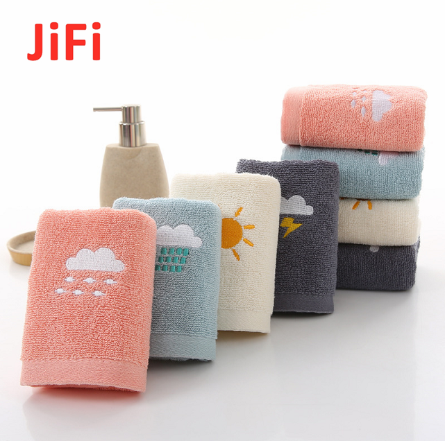 Kids Baby Hot Selling Pretty Design Soft Cotton Face Towel 10