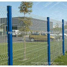 2014 alta calidad galvanizada valla de hierro forjado para el deporte