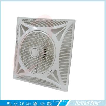 Motor de cobre plástico de la fan del techo de 14 pulgadas 60 * 60 cm (USCF-162)