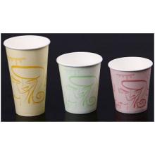 Taza de café corrugado, doble taza Paperadvertising, taza de té de leche