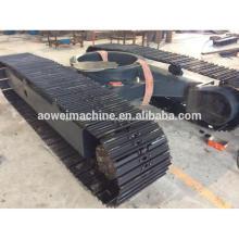 ¡Venta caliente! Tren de rodaje de cadenas de acero Sistema de orugas de chasis de 0,5 toneladas a 120 toneladas para granja de camiones volquete