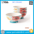 Pioneer Damen-Set mit 4 Bloom Dots Footed Bowls