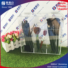 Luxury Transparent Acrylic Cosmetic Store Display