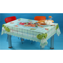 Großhandel China Factory Qualität alle in einem unabhängigen Design (TZ-0005) gedruckt transparente Tischdecke 140 * 180cm
