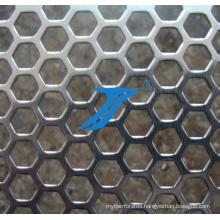 Hot Sale Hexagonal Hole Punching, Hexagonal Holes Perforated Metal Mesh