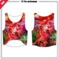 Soem-Fabrik reizvolles loses reizvolles Mädchen-Yoga-Trägershirt (Frauenfruchtoberseite)