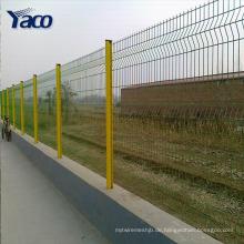 Pulverbeschichtet und Stahl Metall Typ verzinkt und PVC beschichtet 3D gebogene geschweißte Mesh-Panel Zäune