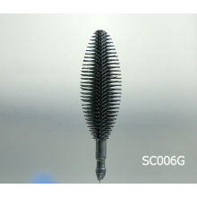 rubber mascara brush