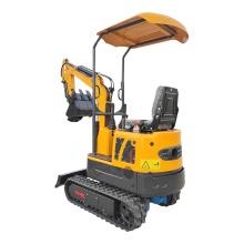Mini excavadora de 1 tonelada con motor diésel de alta potencia OCE10
