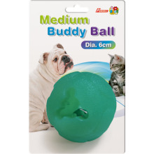 Игрушка Percell Medium Buddy Ball с прочным лакомством