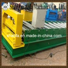Máquina de moldagem de rolo de folha de telhado ondulado de aço colorido (AF-R836)
