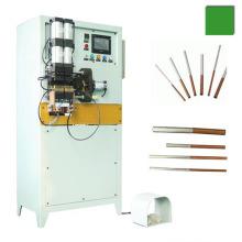 Refrigerador condensador evaporador de cobre y tubo de aluminio tubo de soldadura por resistencia de la máquina