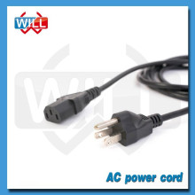 UL CUL approval 3 pin 250v north america ac power cord
