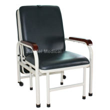 Edelstahl Escort Bett und Stuhl für Familien