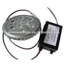 Diodo emissor de luz Downlight de 11W G53 AR111 Dimmable com motorista exterior