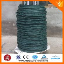 Fabricação de arame de aço galvanizado revestido de PVC