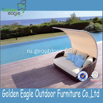 Modern Rattan Sun Lounger Patio Furniture