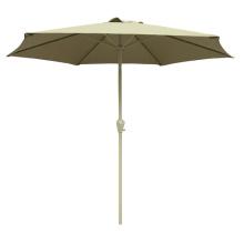 sombrilla de jardín de sol de lujo al aire libre