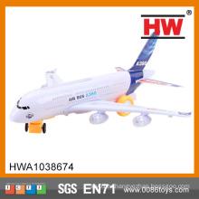 (С огнями и посадки звука) Высокое качество пластиковых детей электрические игрушки Самолет
