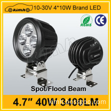 "Car accessory 4.7"" 40w small led work light made in China"