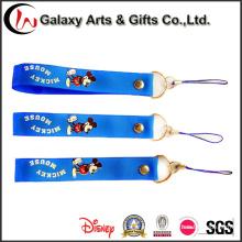Custom Polyester Short Cellphone Strap