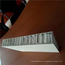 Painéis de favo de mel de alumínio PVDF para revestimentos de parede
