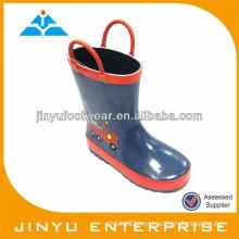 Kid pull-on neoprene rubber boots