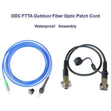Cordón de remiendo Odc de fibra óptica impermeable