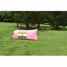 Saco de dormir de nylon do tecido do sofá exterior inflável da venda 2016 quente
