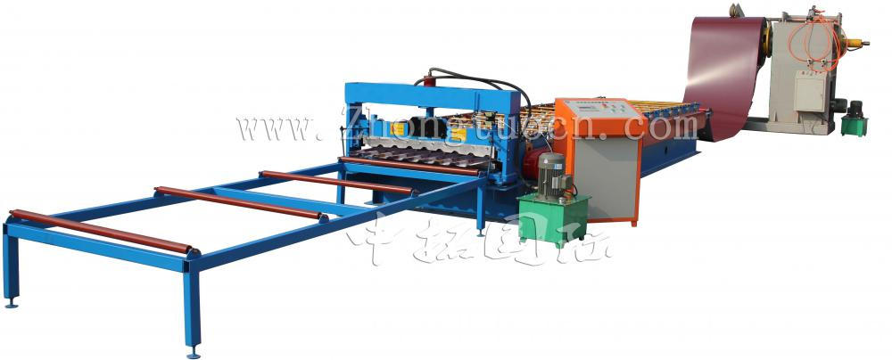 roof panel roll forming machine (38)